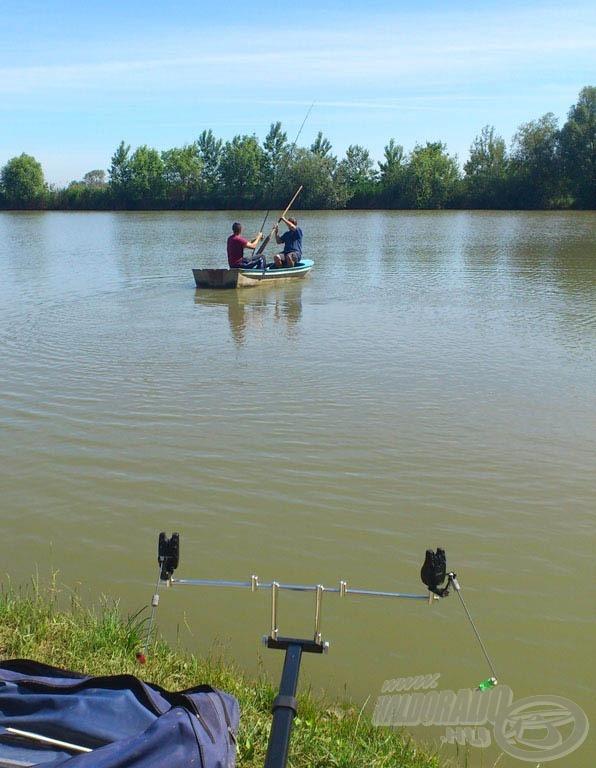 Mentünk a halat kiszabadítani