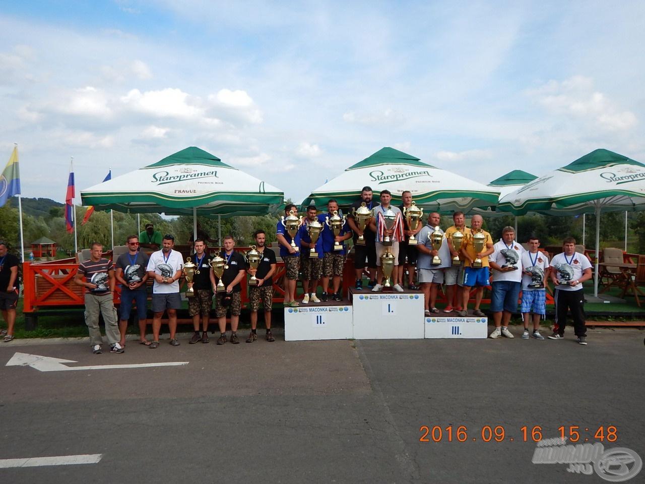 A XI. EPBC díjazottjai