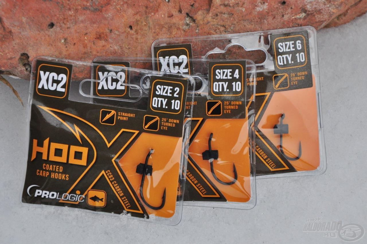 Az XC2 széria klasszikus, hosszú szárú, sokoldalúan használható horgai szakállal…