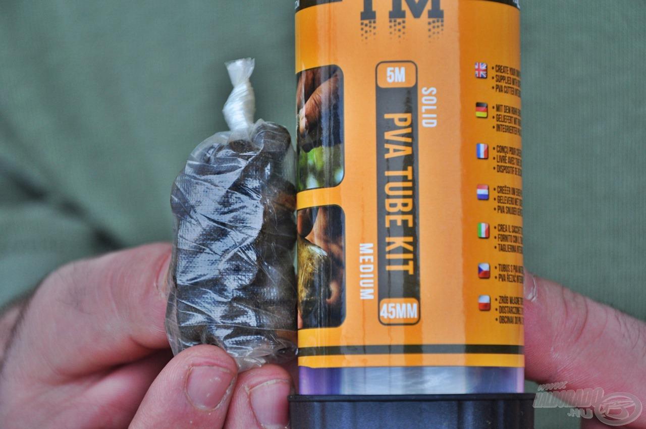 Hideg vízben is jól oldódó PVA zacskók 5 méteres kiszerelésben és 30, valamint 45 mm szélességben is elérhetőek