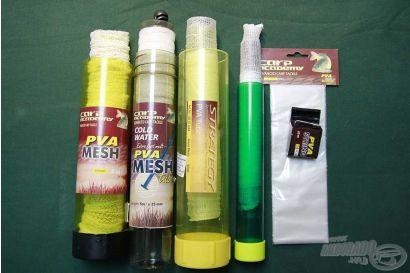 PVA termékek a pontyhorgászatban