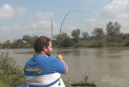 Rybyéra versenypraktikák - A folyóvízi  horgászat