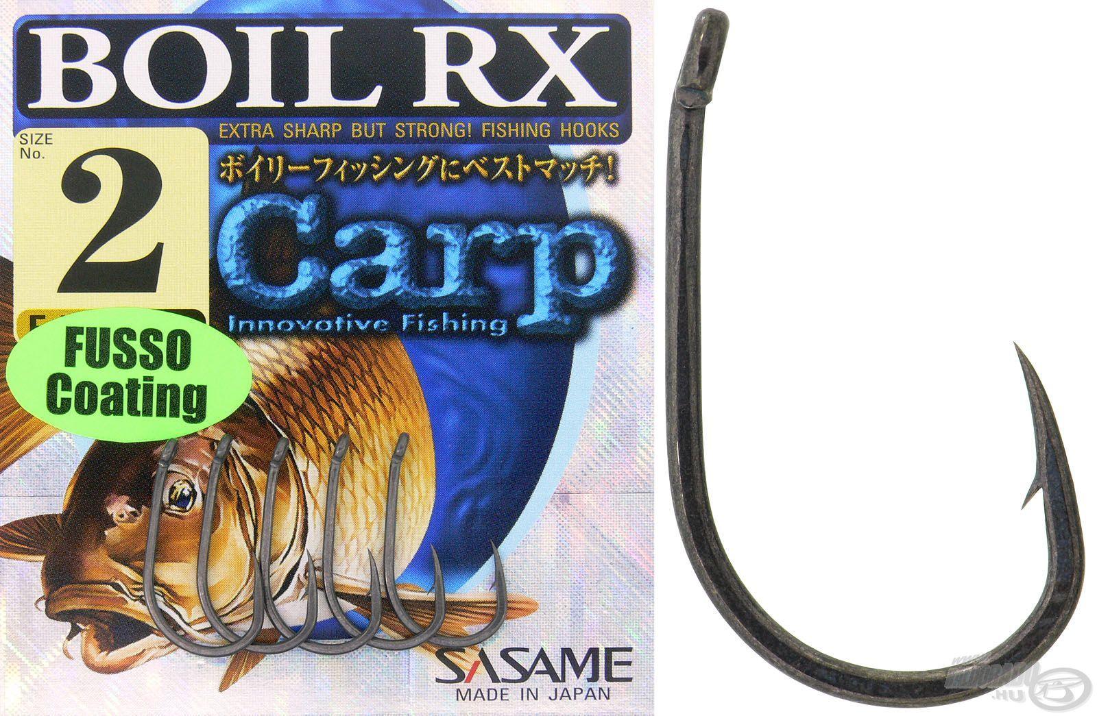 A Boil RX Teflon vastaghúsú, acélos horog