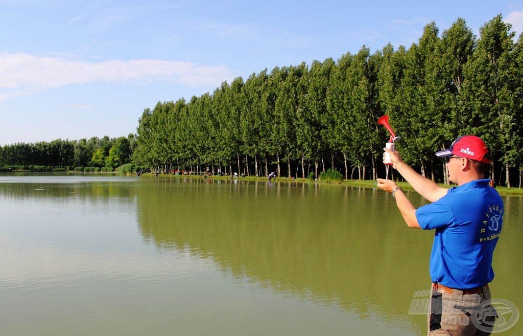 A verseny 8 órakor kezdődött és 13:30-ig tartott, amivel öt és fél órás tiszta horgászidő állt a versenyzők rendelkezésére, hogy az általuk kiválasztott módszerrel a lehető legtöbb halat zsákmányolják