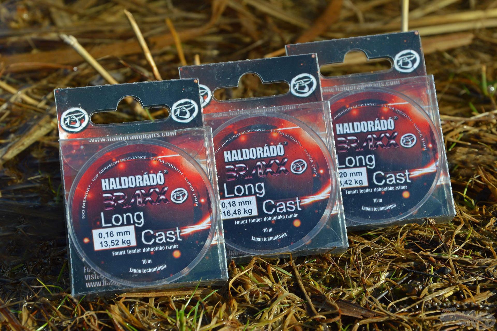 A Haldorádó Braxx Long Cast egy kifejezetten feederbotos horgászathoz kifejlesztett fonott, bevonatos dobóelőke zsinór