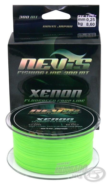 A Xenon speciális színének köszönhetően nagy távolságról is jól látható, ami nagy előnyt nyújt éjszakai horgászatkor is