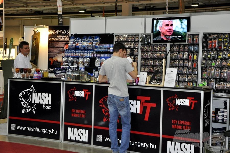 A Nash legújabb termékeit is kézbe lehet venni