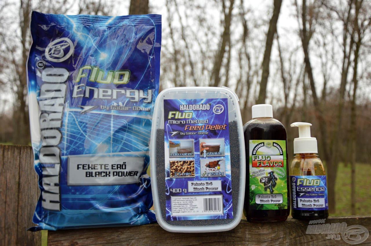 A Fluo Energy Fekete Erő az intenzív vizek favoritja