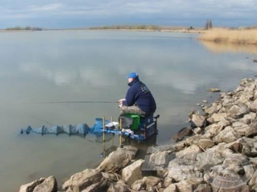 Végre horgászom