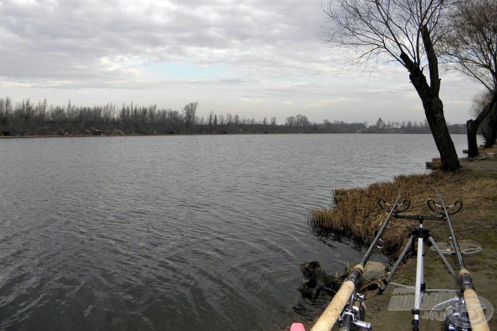 Kavicsbánya tó Pest határában