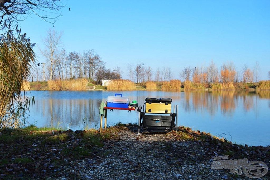 A horgászhely kialakítása