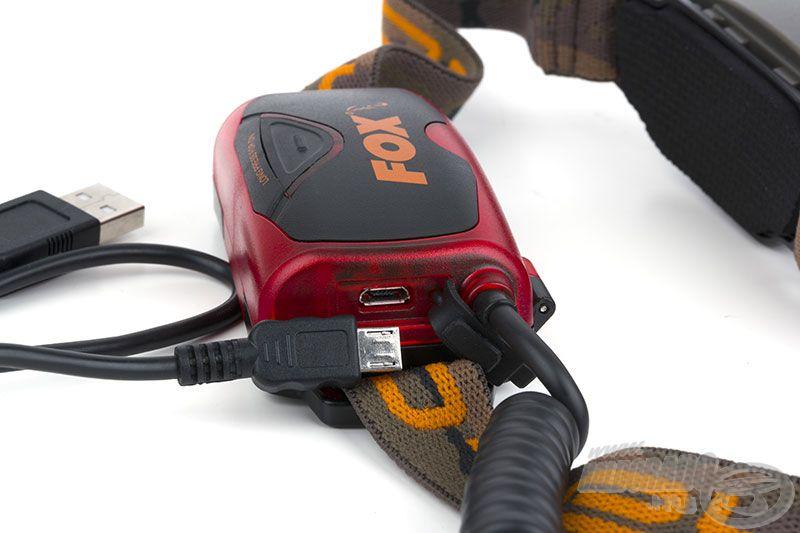 Magas teljesítményű tölthető Li-Polymer, USB csatlakozós áramforrással és USB töltővel