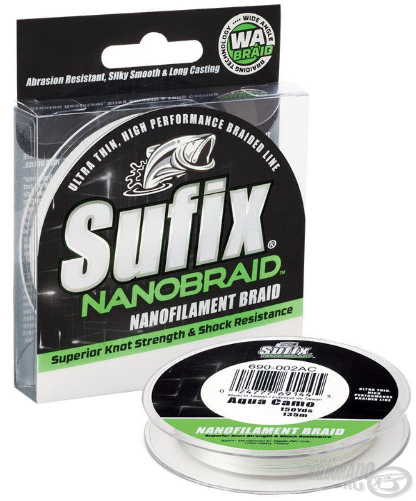 A Nano Braid Aqua Camo zsinór kiváló választás az ultra light pergető horgászoknak és a finomszerelékes horgászoknak egyaránt