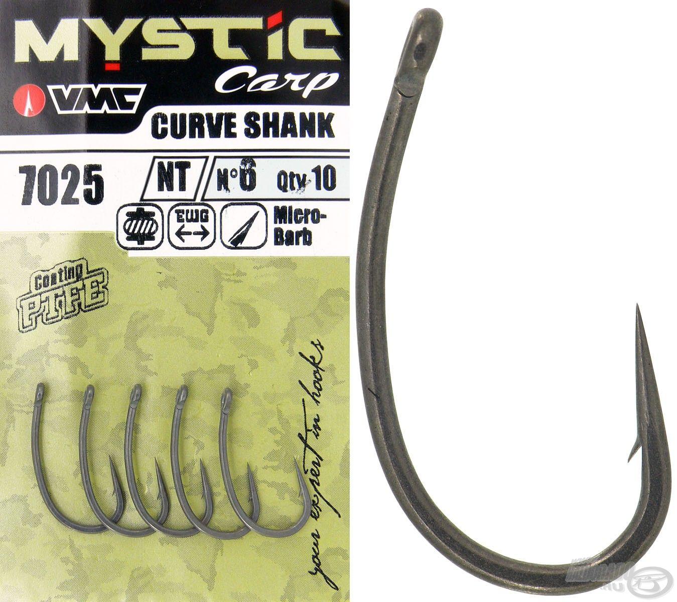 Bemutatjuk a Mystic Carp Curve Shank horgot, ami a VMC legsokoldalúbb nagypontyos modellje!
