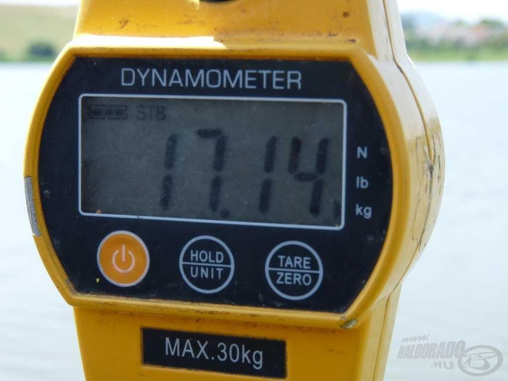 Hiteles mérés, hiteles mérleggel