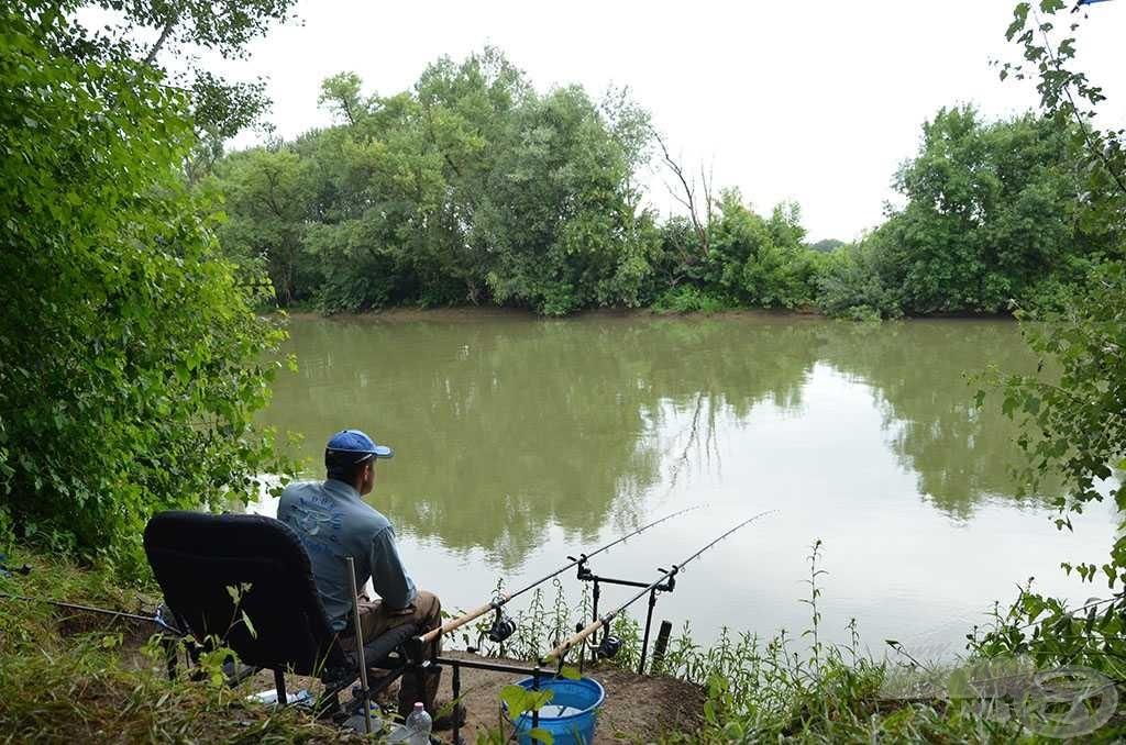 Íme, a horgászhelyem