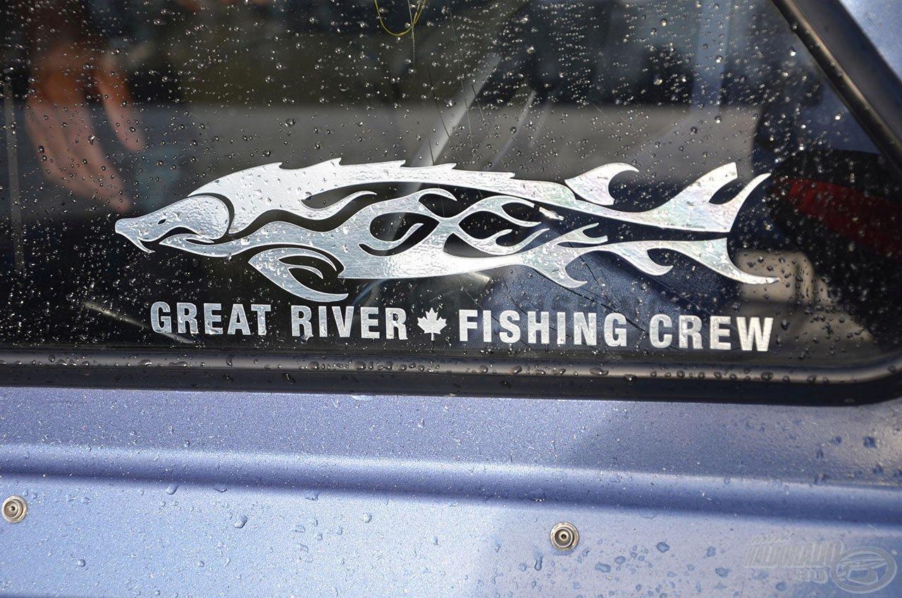Még a cég logója is a tokhal!