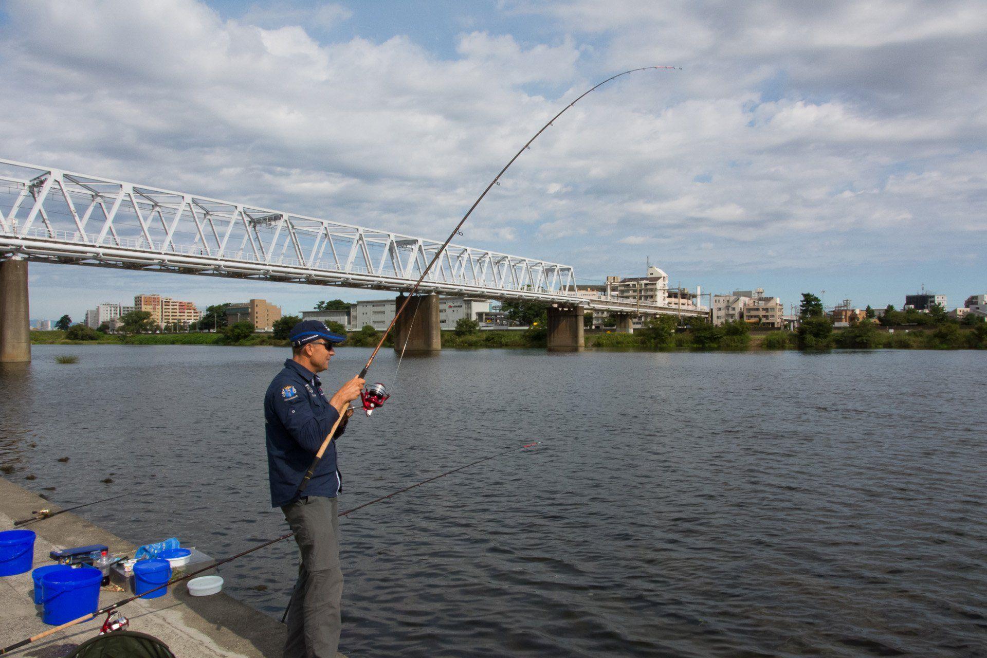 Végre újra halat akasztottam!