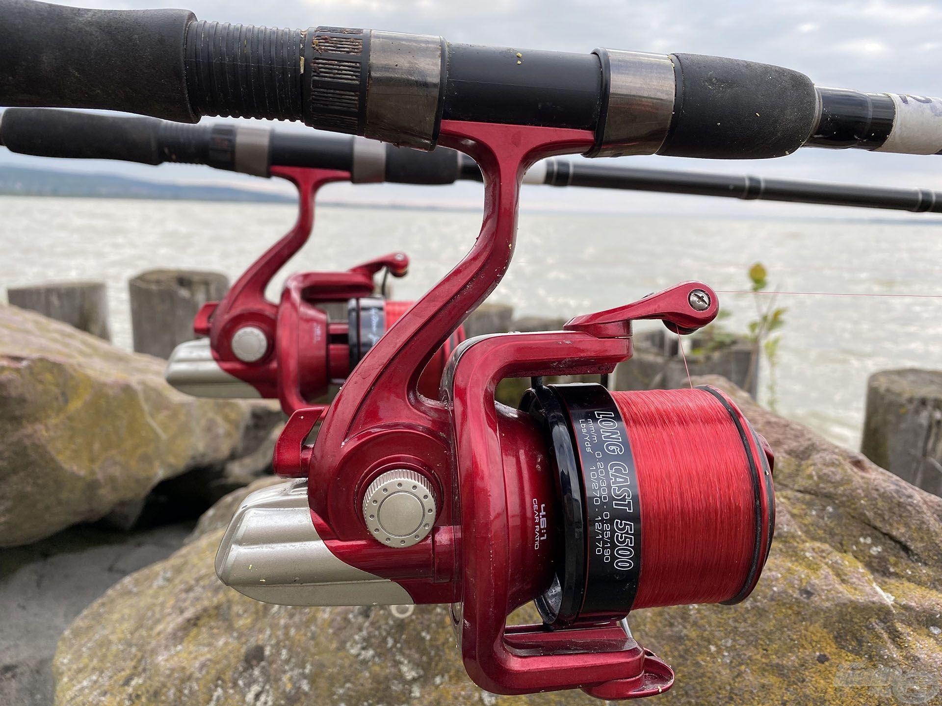 By Döme TEAM FEEDER Master Carp Pro 420LC botokkal és Long Cast 5500 orsókkal horgásztam