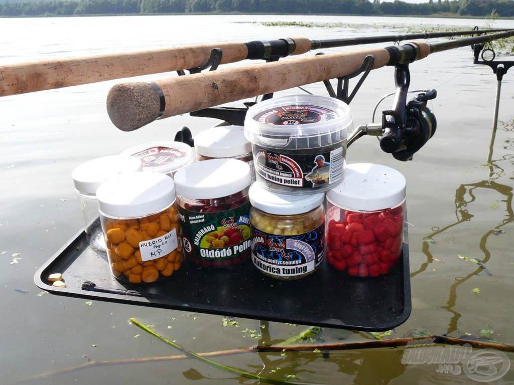 A Haldorádó Nagy Ponty oldódó pellet + Nagy Ponty Hybrid Maxi Pop Up pellettel fogtam a legnagyobb halakat…