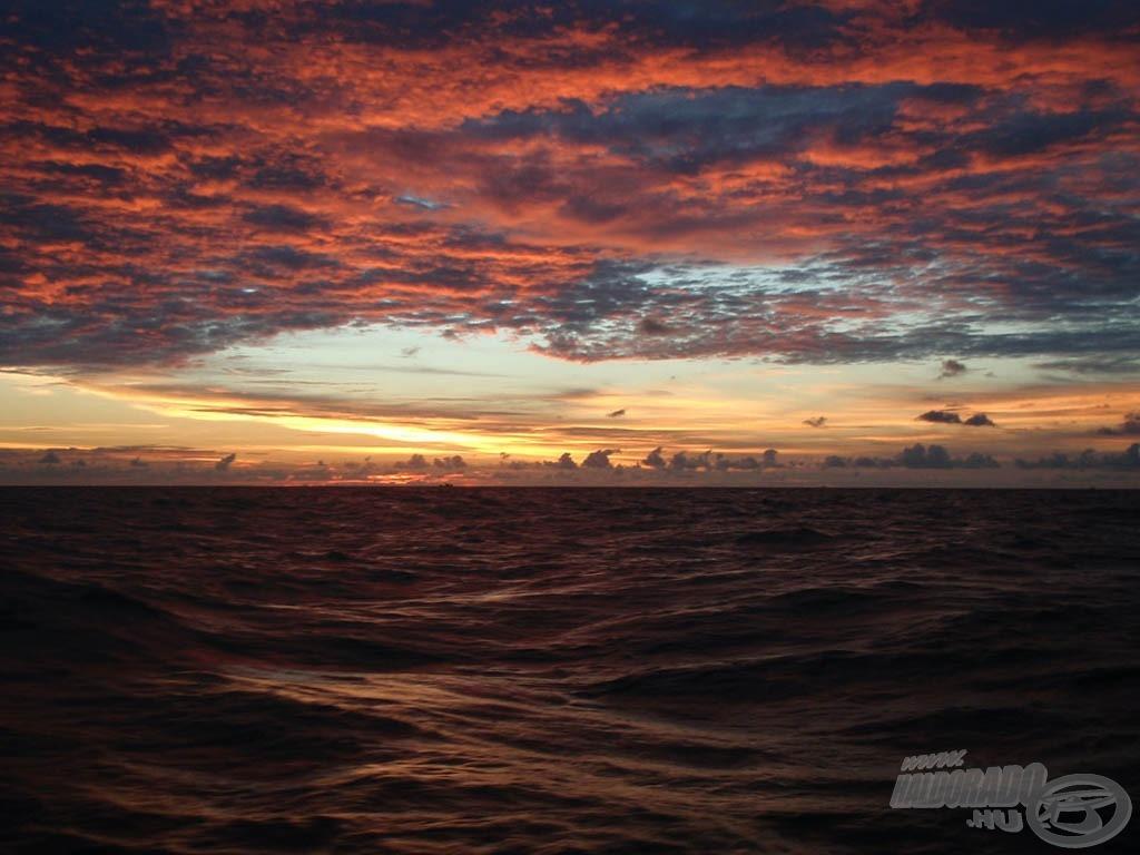 Thaiföldi naplemente…