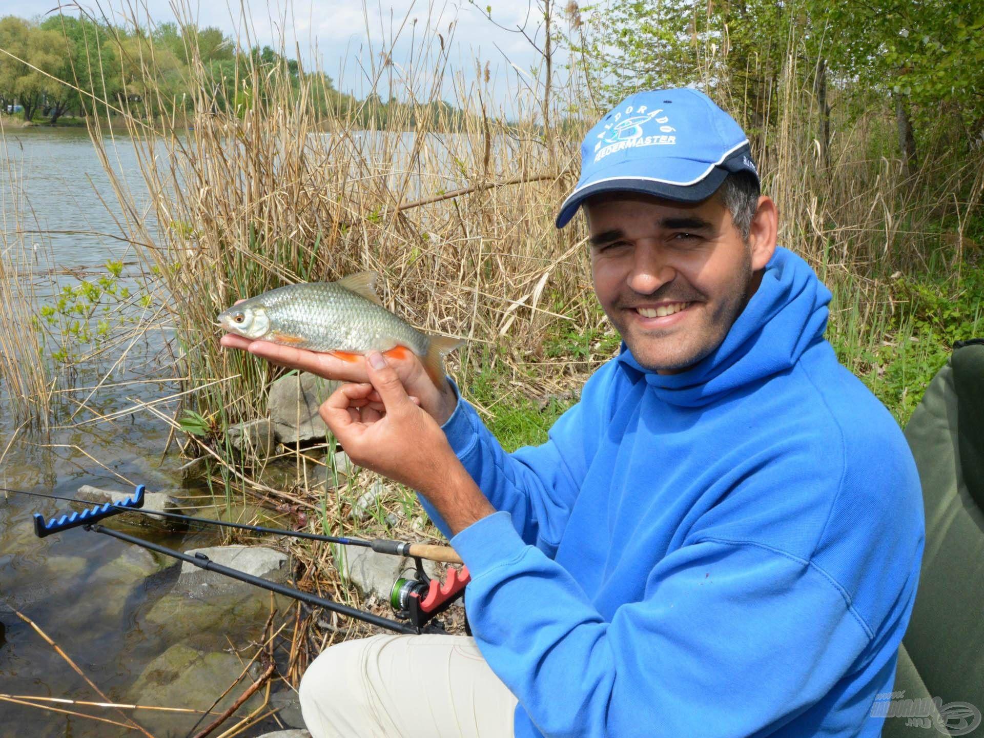 Ritkán horgászunk kifejezetten erre a halfajra!
