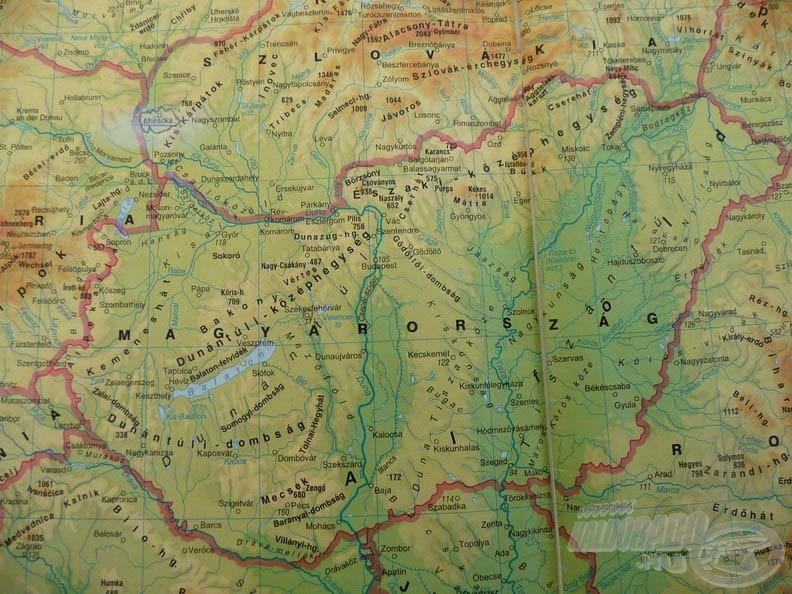 Magyarország térképét tekintve, hazánk vizekben gazdag ország látszatát kelti