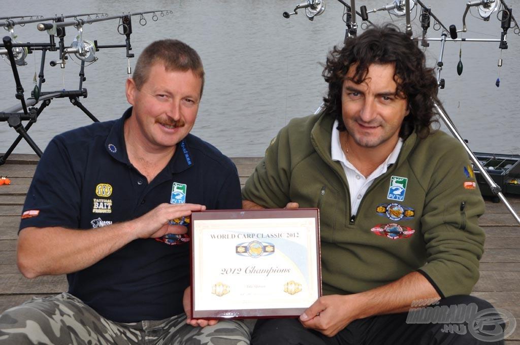World Carp Classic 2012 - Champions