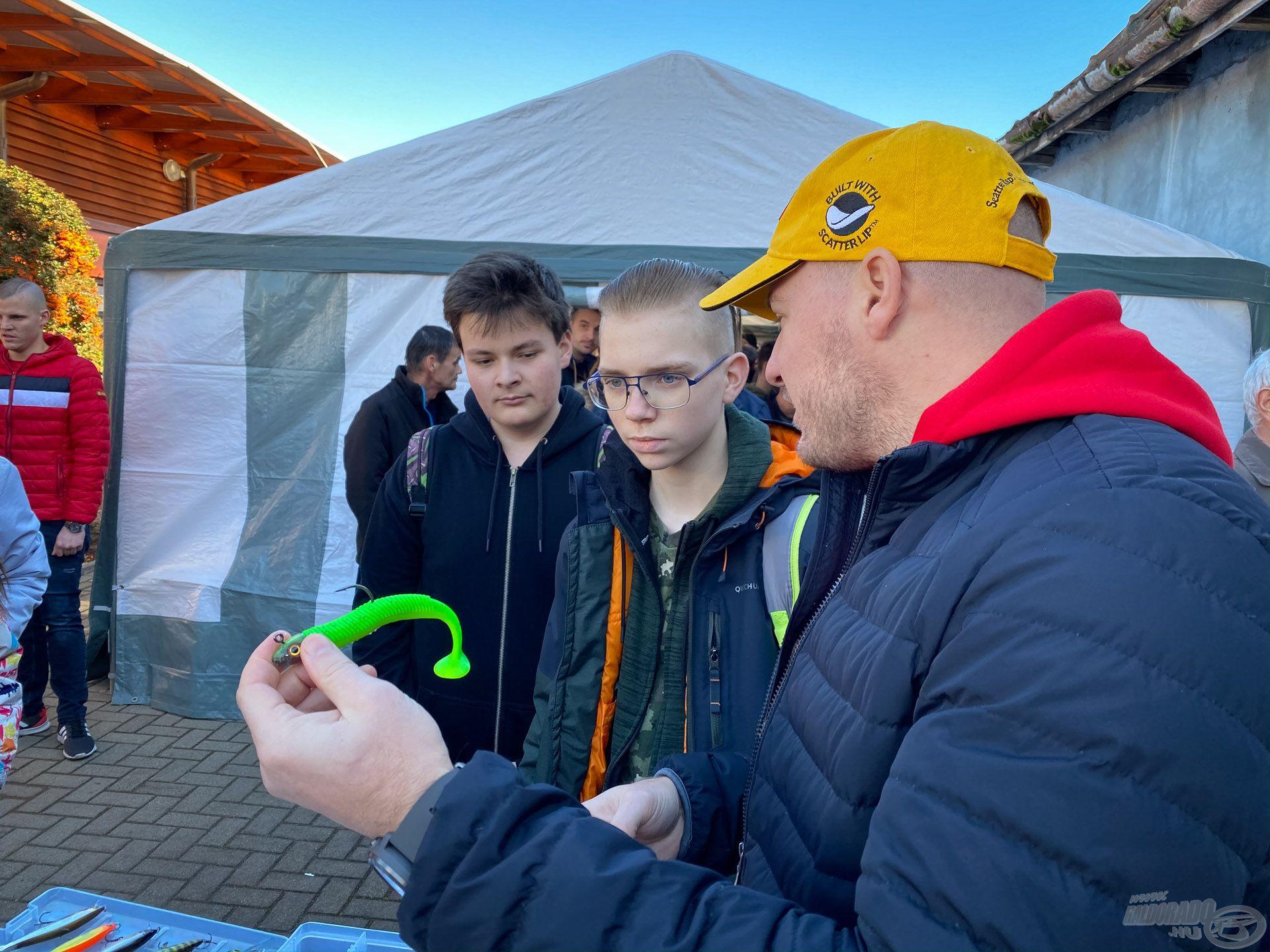 Storm gumihal, ami igen komoly meglepetés harcsákat adott a Balatonon