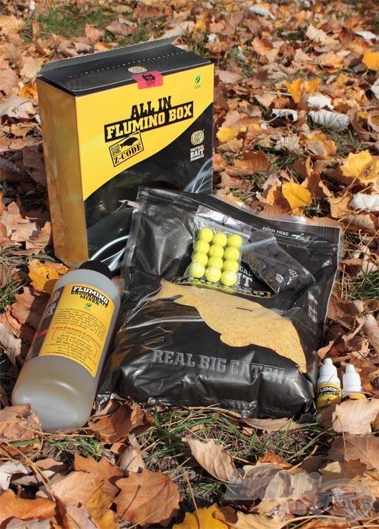 Az All In Flumino Box Z-CODE mindent tartalmaz, amelyre egy egynapos horgászat során szükségünk lehet