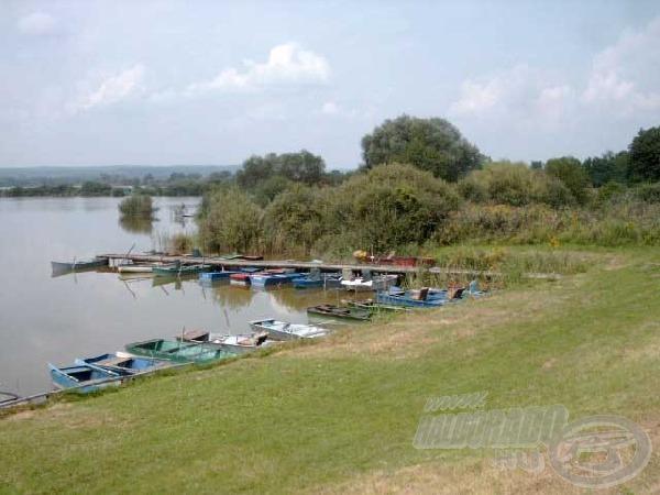A rengeteg ladik arra engedett következtetni, hogy Zalán leginkább a csónakos, kereső horgászat terjedt el.
