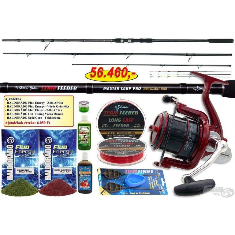 By Döme TEAM FEEDER Master Carp Pro 390LC + ajándék hideg vízi csomag