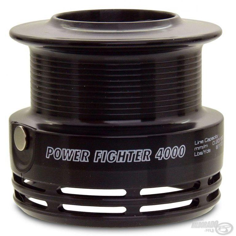 By Döme TEAM FEEDER Power Fighter 4000 pótdob