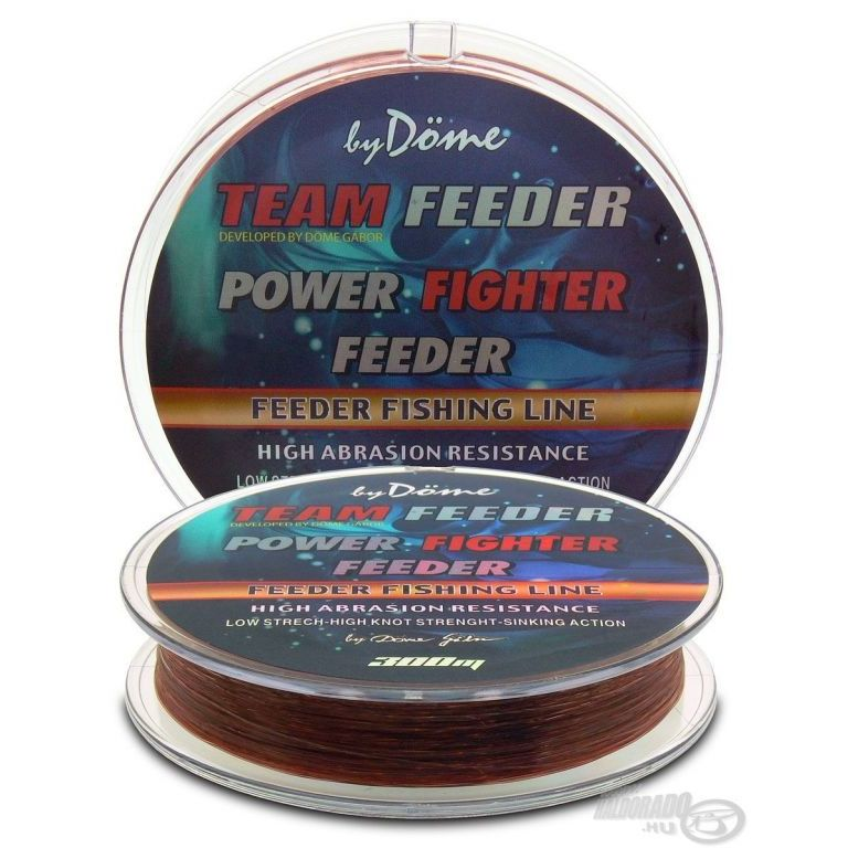 By Döme TEAM FEEDER Power Fighter Line 0,25 mm