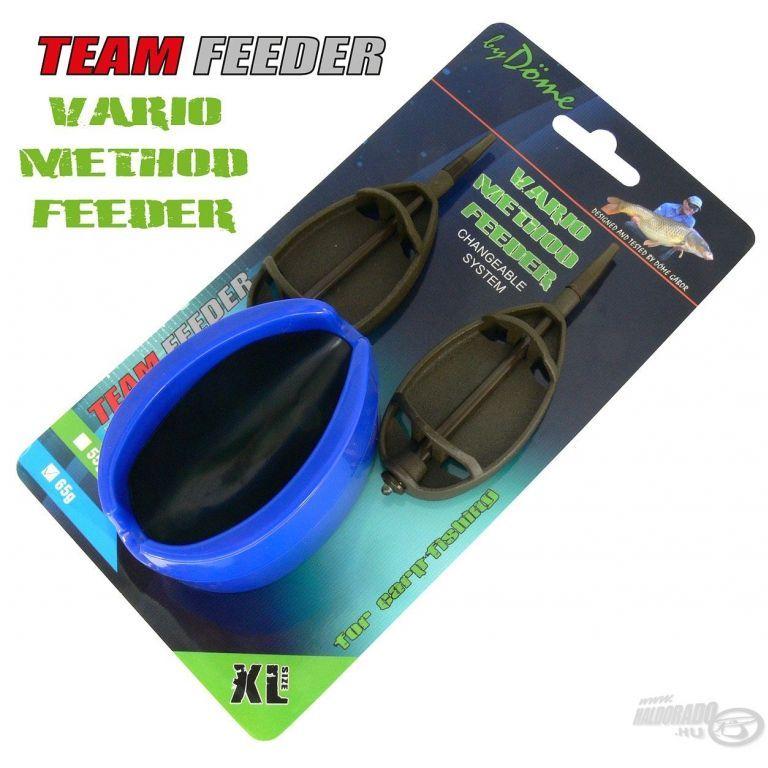 By Döme TEAM FEEDER Vario Method Feeder kosár szett XL 65 g