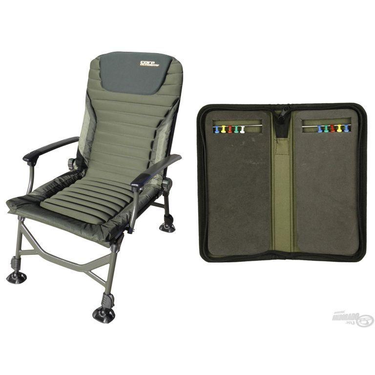 CARP ACADEMY Exclusive fotel + ajándék előketartó táska