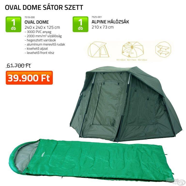 CARP ACADEMY Oval Dome sátor szett (KB-463)