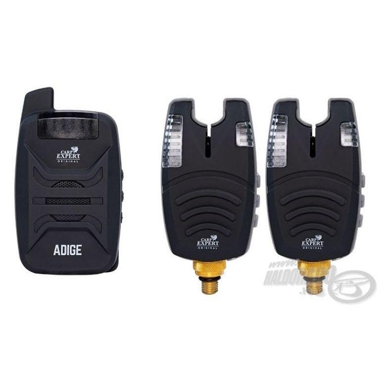 Carp Expert Adige Elektromos kapásjelző szett 2+1 darabos