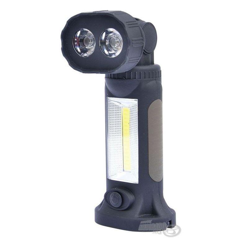 CARP ZOOM Forgatható fejű lámpa