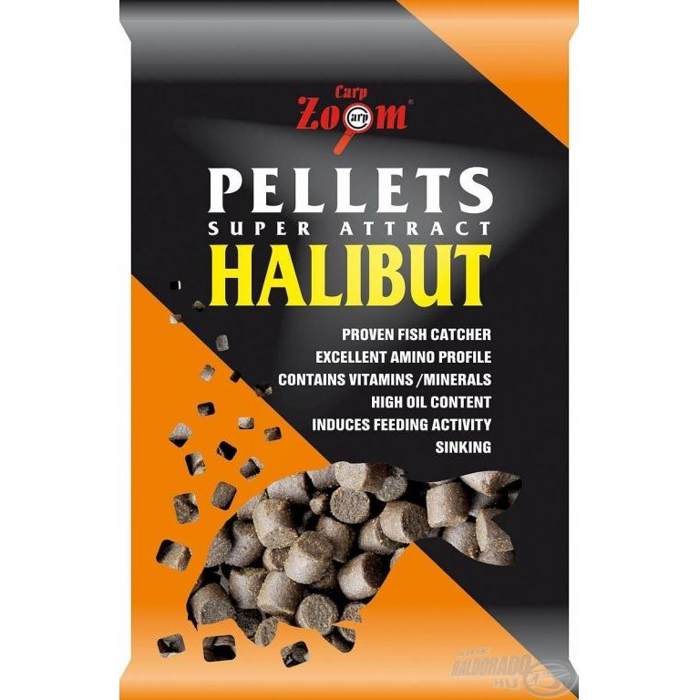 CARP ZOOM Halibut pellet 10 mm