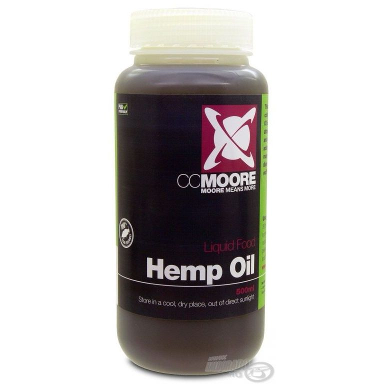CCMoore Hemp Oil 500 ml - Kendermag olaj