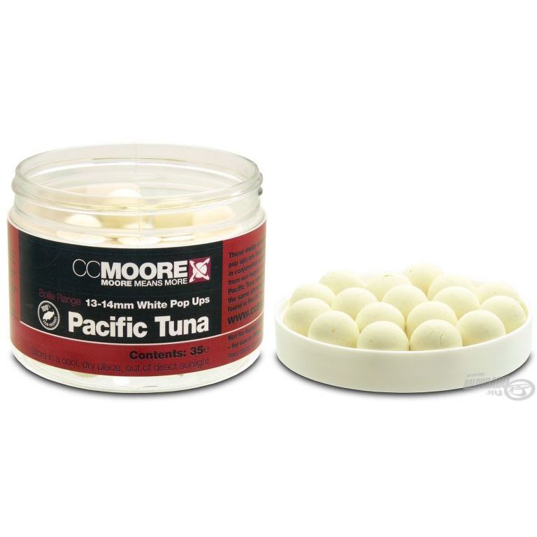 CCMoore Pacific Tuna White Pop Up bojli 13/14 mm