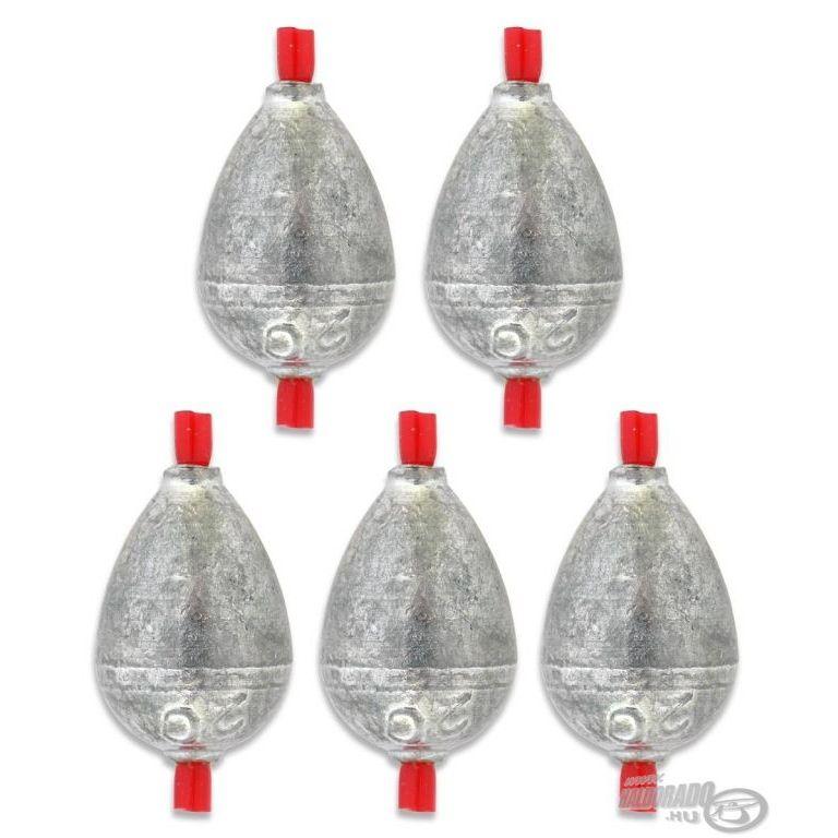 DEÁKY betétes cseppólom - 6 g - 5 db