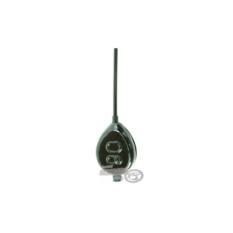 DEÁKY Flat Pear Inline Plus with Hard Tube 110 g