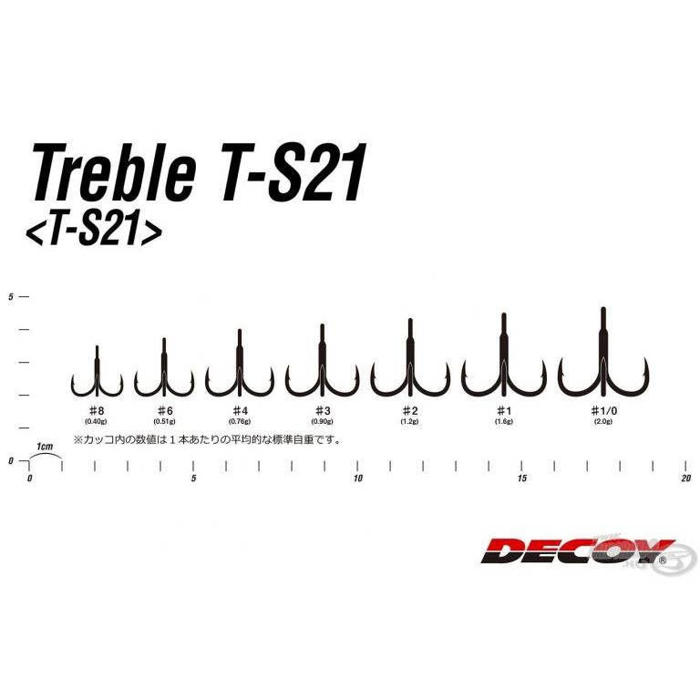 DECOY Treble T-S21 1