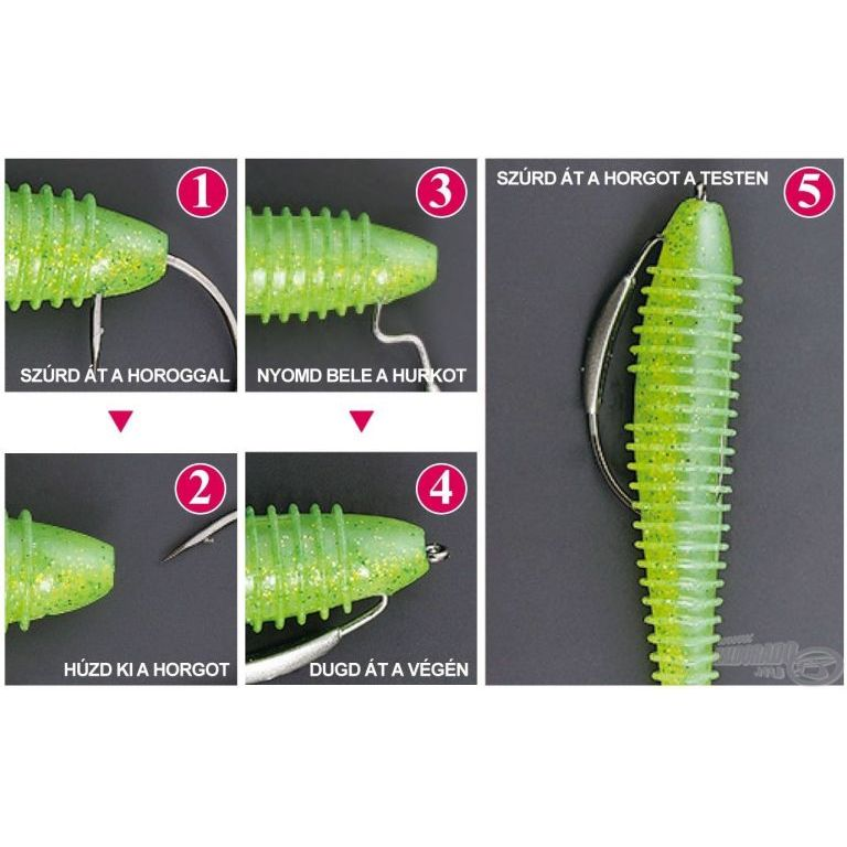 DECOY Worm 104 W Switcher 3/0 - 0,9 g