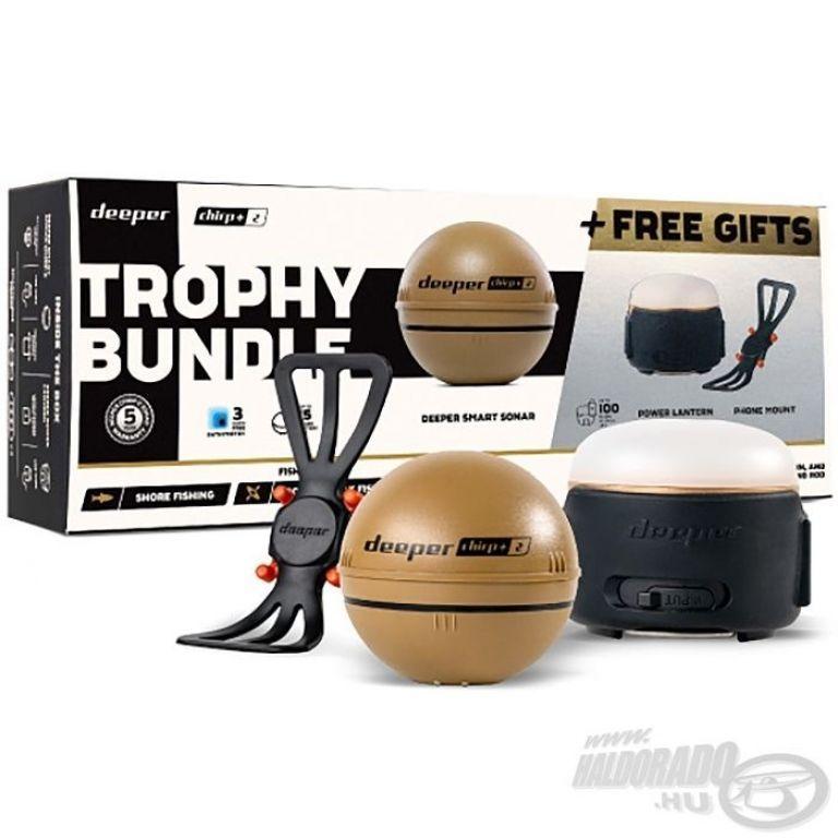 DEEPER Chirp+ Winter halradar szett limitált kiadású karácsonyi csomag 20.000 Ft értékű ajándékkal