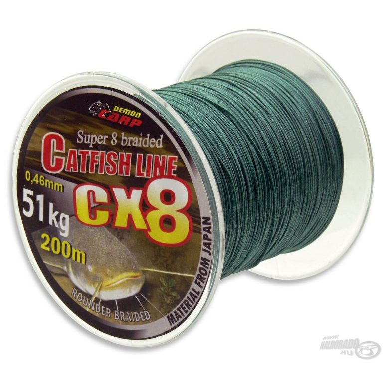 DEMON CARP CX8 Super Catfish Braid 0,71 mm