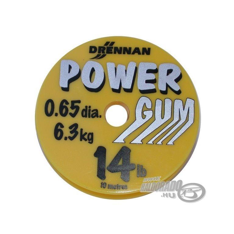 DRENNAN Power Gum - áttetsző