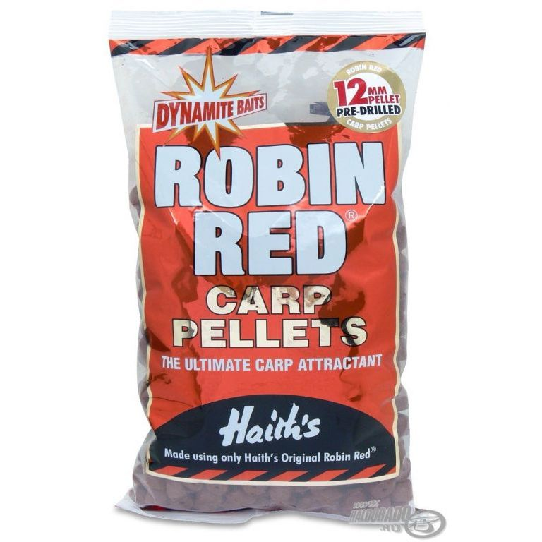 Dynamite Baits Robin Red Carp Pre-Drilled pellet 15 mm